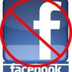 No Fcebook